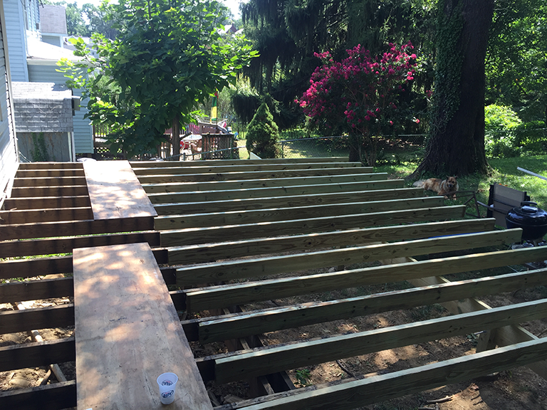 new-joist-for-deck-installed